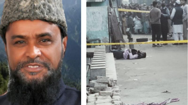 delhi bjp leader zulfikar qureshi murder son attack
