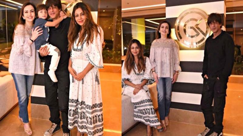 SRKની પત્નીએ મુકેશ અંબાણીના  એન્ટિલિયામાં ડિઝાઇન કર્યુ બાર લાઉન્જ