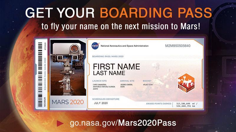 જલ્દી કરો, શું તમારે મંગળ પર જવું છે! તો NASAને મોકલો તમારું નામ
