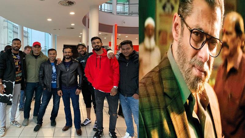 ઇંગ્લેન્ડમાં ટીમ ઇન્ડિયાએ જોઇ 'ભારત', સલમાને ટ્વીટ કરી માન્યો આભાર