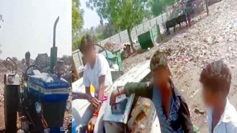બોપલ-ઘૂમા નગરપાલિકા બાળકોને રૂ.100 આપીને કરાવે છે બાળમજૂરી