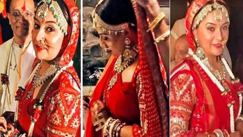 41 વર્ષની ઉંમરે આ ગુજરાતી એક્ટ્રેસ કર્યા લગ્ન  પતિ સાથે શૅર કર્યો ફોટો