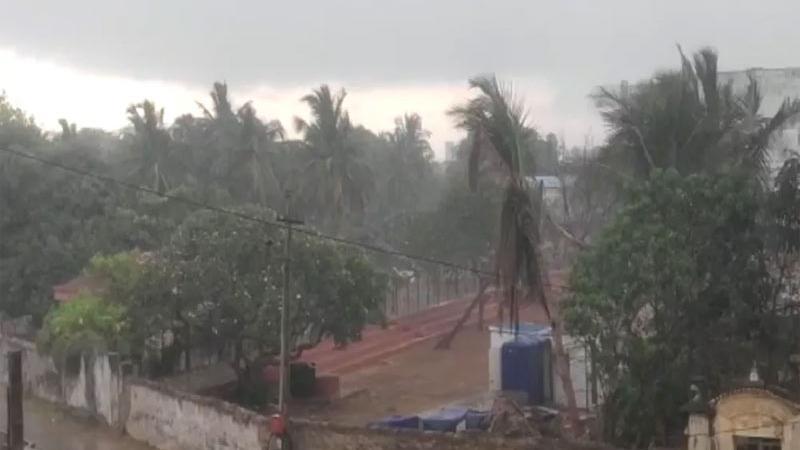 વાવાઝોડાને પગલે રાજ્યના અનેક વિસ્તારમાં વરસાદ શરૂ