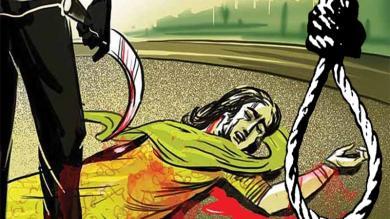 પત્નીની હત્યા કર્યા બાદ પતિએ ગળે ફાંસો ખાઇને કર્યો આપઘાત