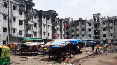 ચોમાસાની દસ્તકઃ કોટ વિસ્તારનાં ૬૦૦થી વધુ જર્જરિત મકાન પર જોખમ