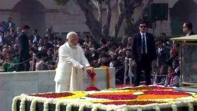 રાષ્ટ્રપિતા ગાંધીજીની આજે 71મી પુણ્યતિથી  PM મોદીએ શ્રધ્ધાંજલી અર્પણ કરી