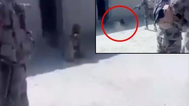 પાકિસ્તાનનો નાપાક ચહેરો  બલોચને ધડાધડ ગોળીઓ મારી દીધી  જુઓ Video